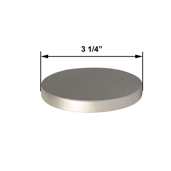 Spa Lid - Brushed - Large by Maddison Avenue Candle Company