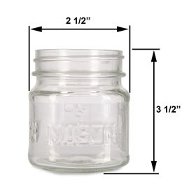 8 oz Mason  by Scented Nest Candle Making Supply Company